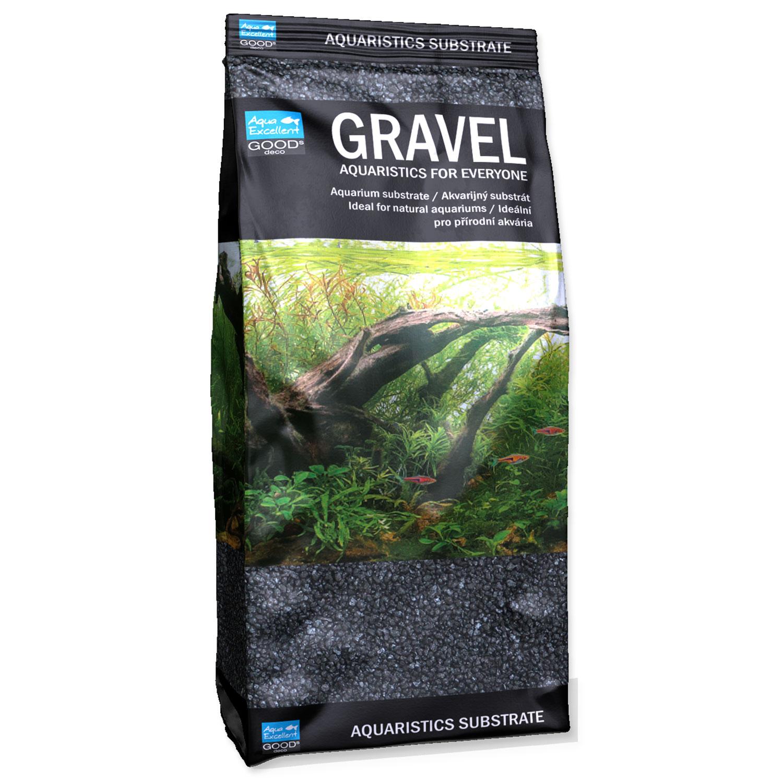 Písek AQUA EXCELLENT 1,6-2,2 mm černý