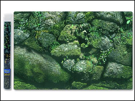 Pozadí AQUA EXCELLENT tapeta exotické kameny 40 cm