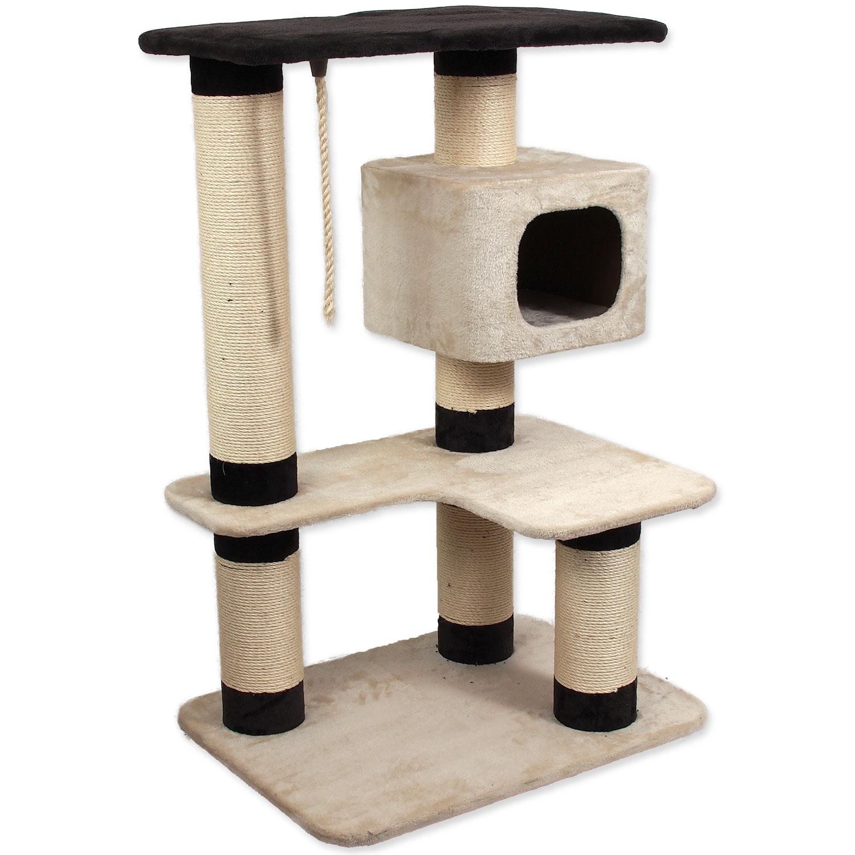 Odpočívadlo MAGIC CAT Valerie béžovo-hnědé 121 cm