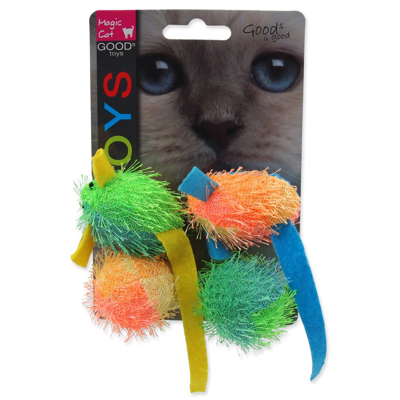 Hračka MAGIC CAT myš a koule s catnipem 5 cm