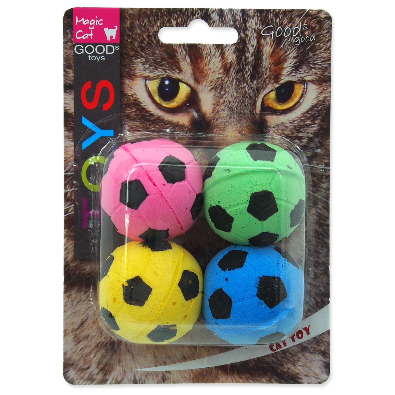 Hračka MAGIC CAT míček pěnový fotbalový 3,75 cm
