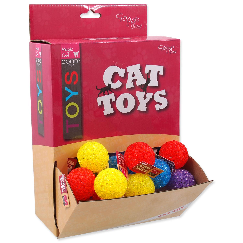 Hračky MAGIC CAT míček plastový 3,8 cm