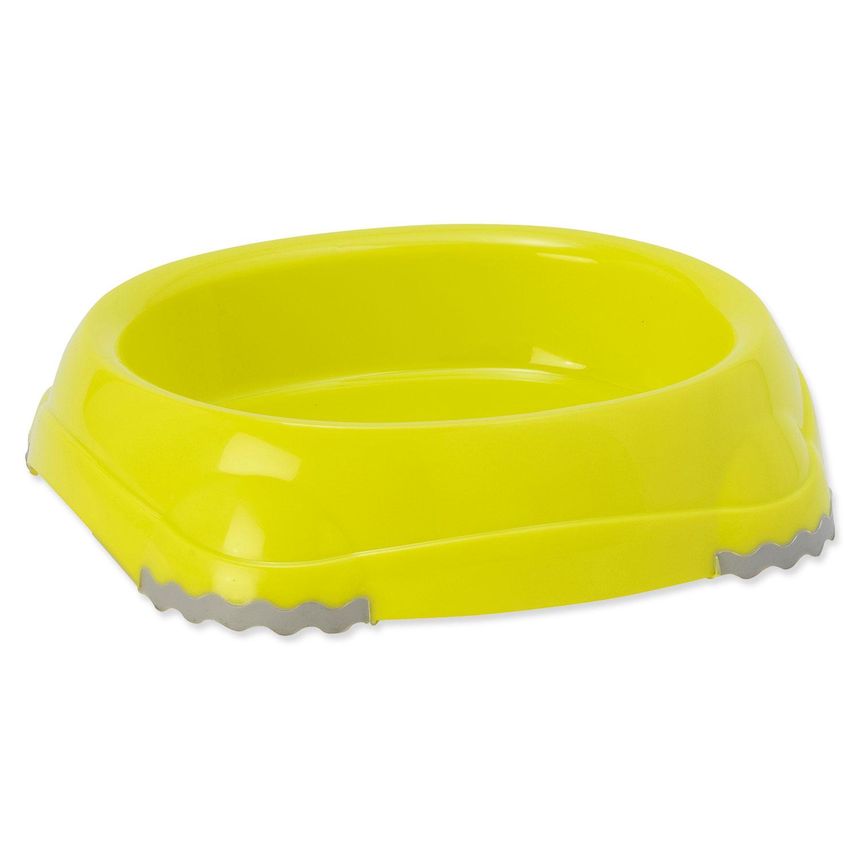 Miska MAGIC CAT plastová protiskluzová žlutá 15 cm