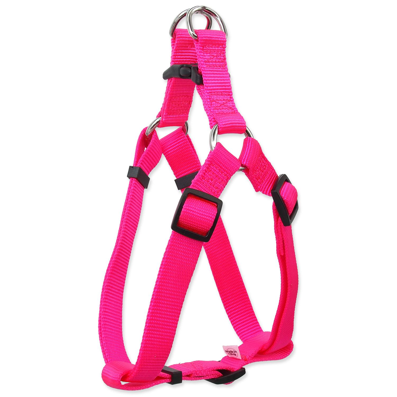 Postroj DOG FANTASY Classic růžový XL