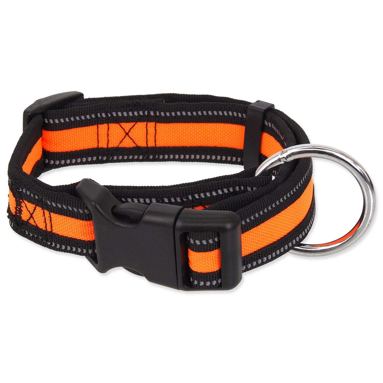 Obojek DOG FANTASY Neoprene oranžový M