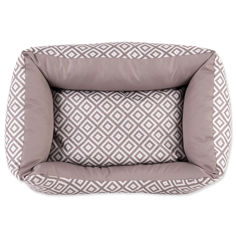 Sofa DOG FANTASY Etno hnědé 53 cm