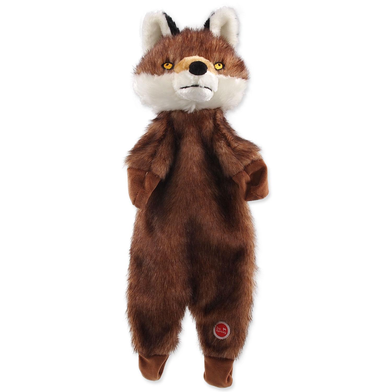 Hračka DOG FANTASY Skinneeez liška plyšová 50 cm 1ks