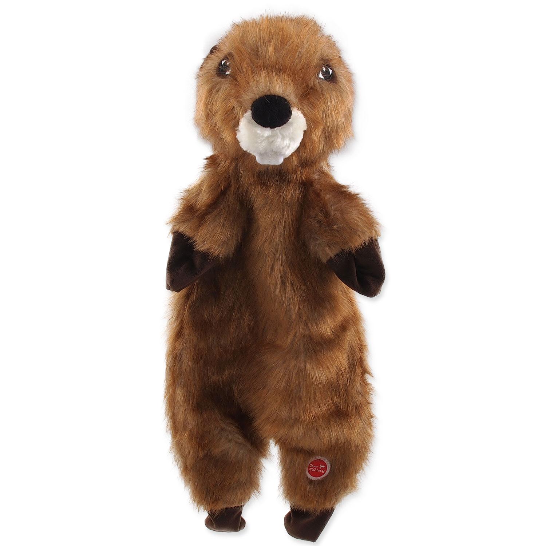 Hračka DOG FANTASY Skinneeez bobr plyšový 50 cm 1ks