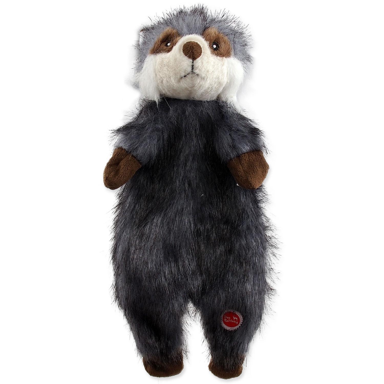 Hračka DOG FANTASY Skinneeez mýval plyšový 34 cm