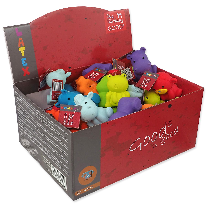 Displej hračky DOG FANTASY Latex Little Zoo 8 x 3 ks
