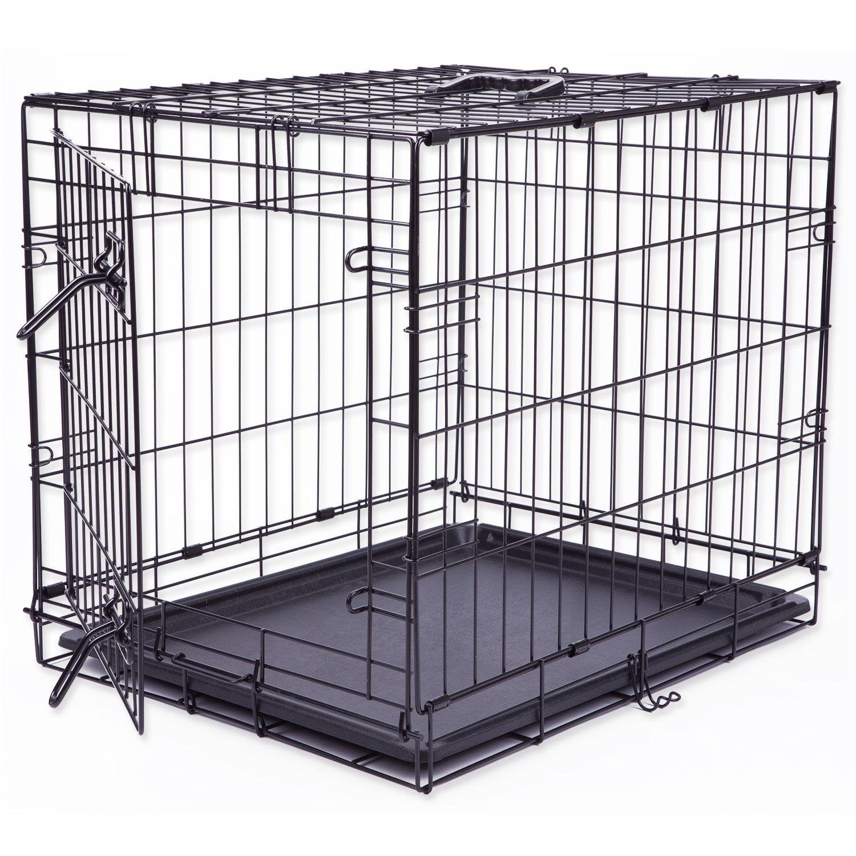 Klec DOG FANTASY skládací černá S - 1 dveře