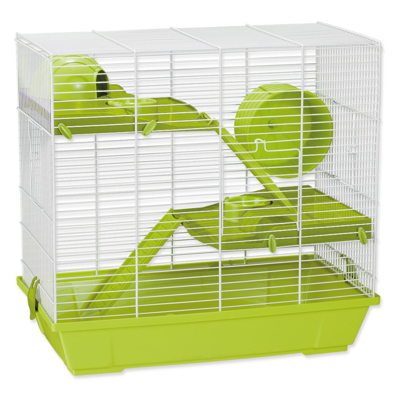 Klec SMALL ANIMALS Jakub zelená s výbavou
