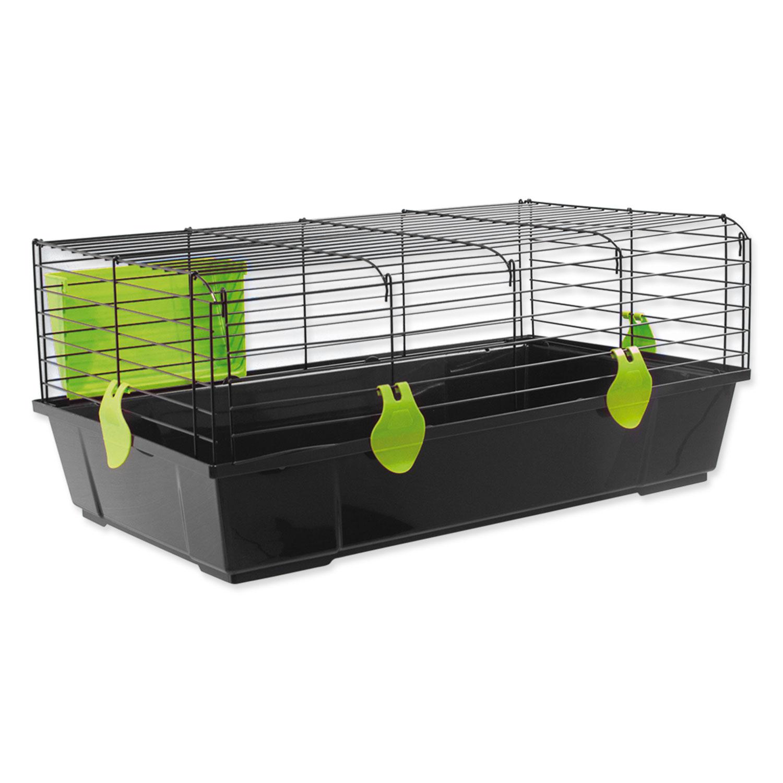 Klec SMALL ANIMALS Matěj černá se zelenou výbavou