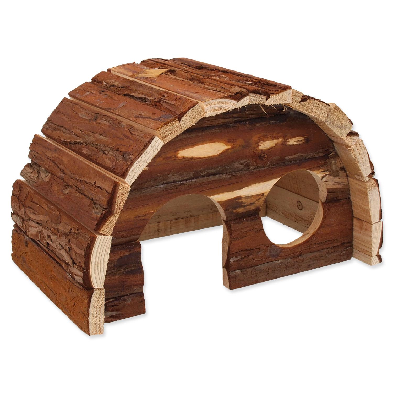 Domek SMALL ANIMALS Hobit dřevěný 25 x 16 x 15 cm
