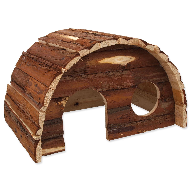 Domek SMALL ANIMALS Hobit dřevěný 36,5 x 22 x 20 cm