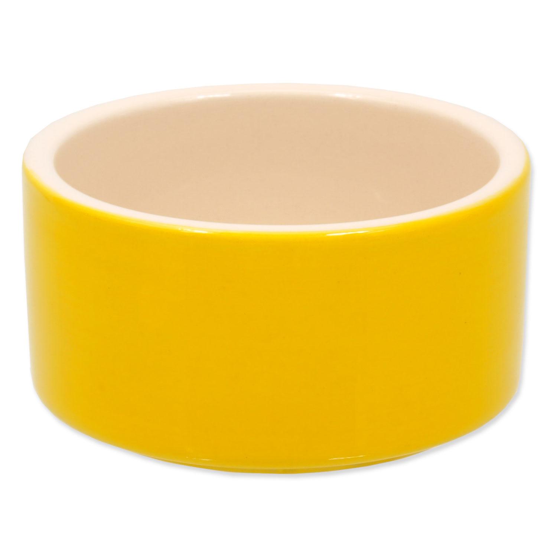 Miska SMALL ANIMALS keramická pro králíky žlutá 10 cm