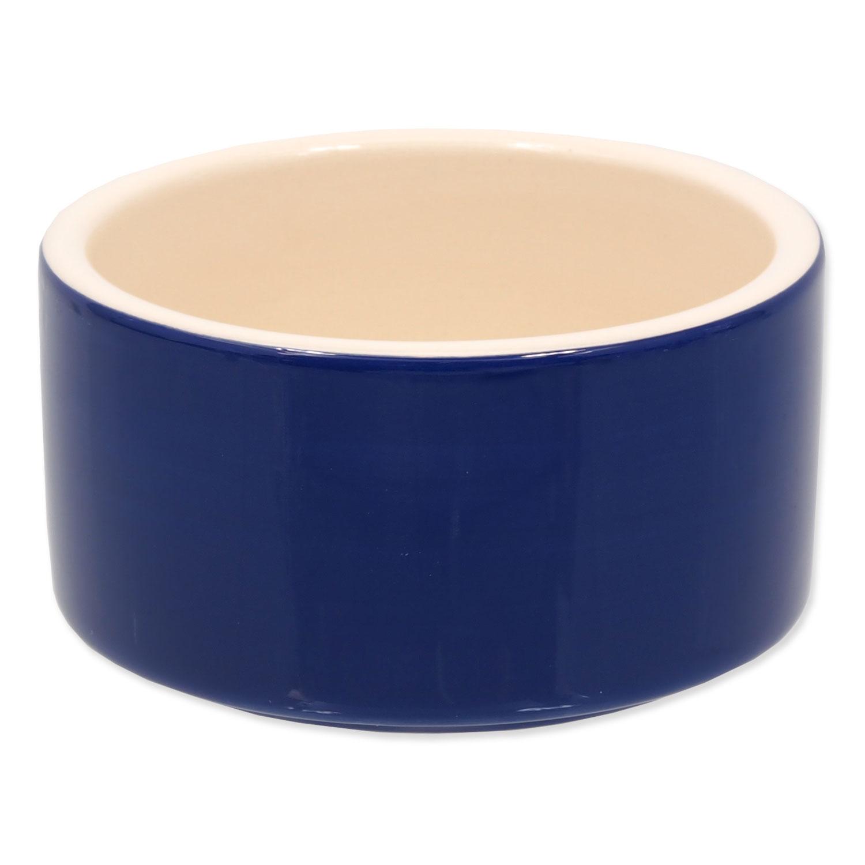 Miska SMALL ANIMALS keramická pro králíky modrá 10 cm