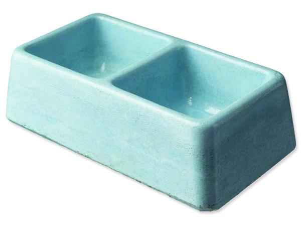 Dvojmiska BE-MI betonová 2 x 100 ml