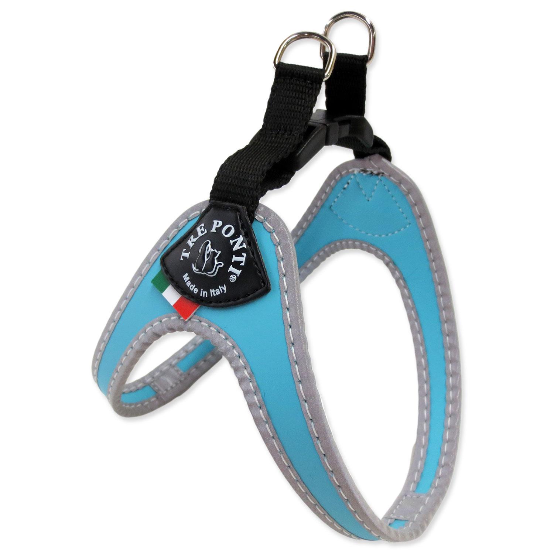 Postroj TRE PONTI reflexní do 5 kg světle modrý