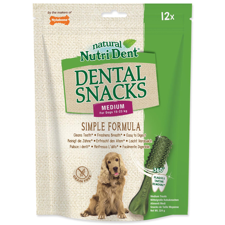 Pochoutka NUTRI DENT Dental Snacks Medium