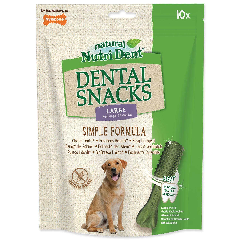 Pochoutka NUTRI DENT Dental Snacks Large