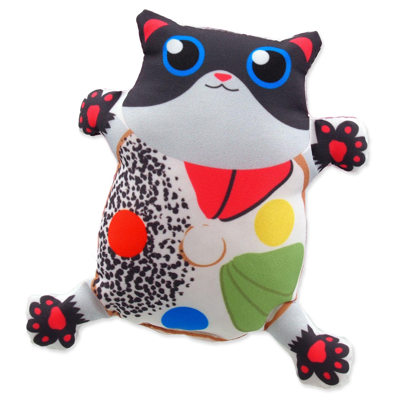 Hračka LET`S PLAY kočka s catnipem 3 - 14 cm