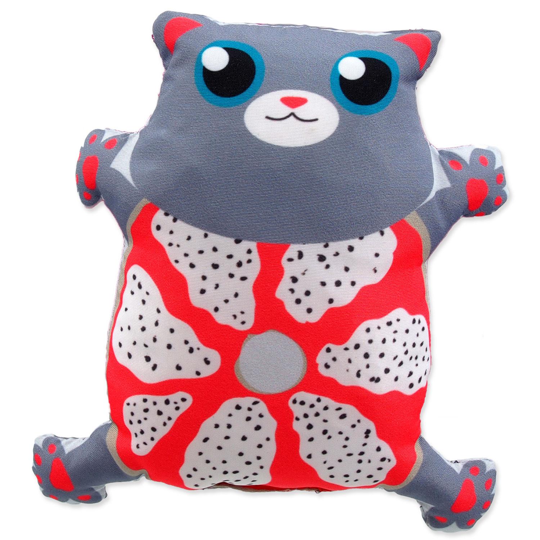 Hračka LET`S PLAY kočka s catnip 4 - 14 cm