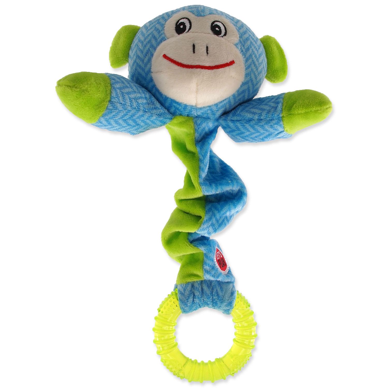 Hračka LET`S PLAY Junior opice modrá 30 cm
