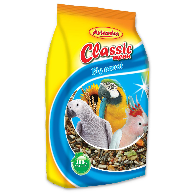 AVICENTRA standard krmivo pro velké papoušky