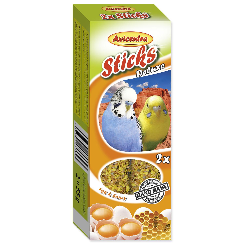 Tyčinky AVICENTRA s vejci s medem pro andulky