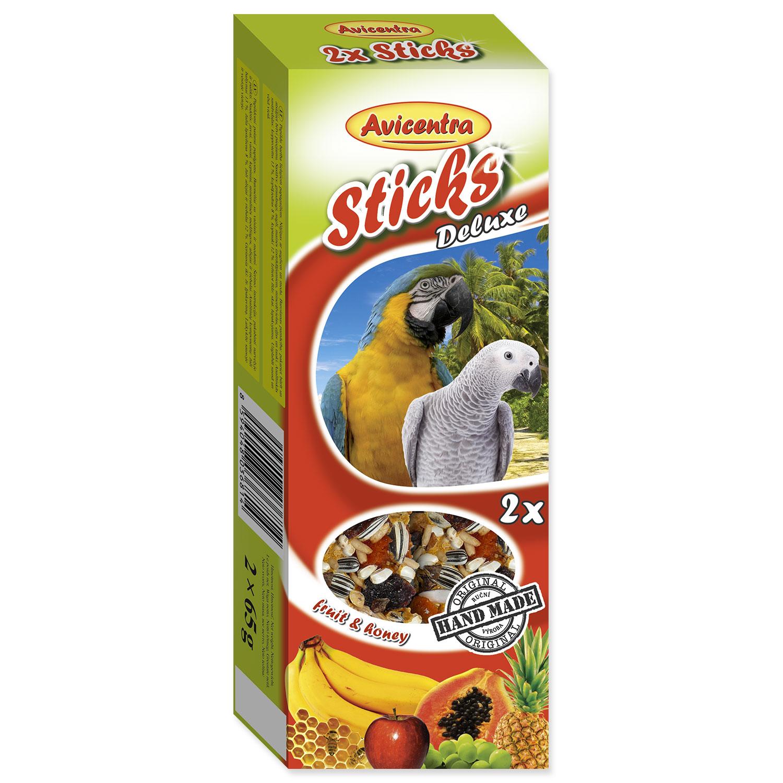 Tyčinky AVICENTRA ovocné pro velké papoušky