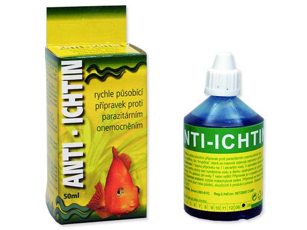 Anti-Ichtinl HU-BEN léčivo na krupičku