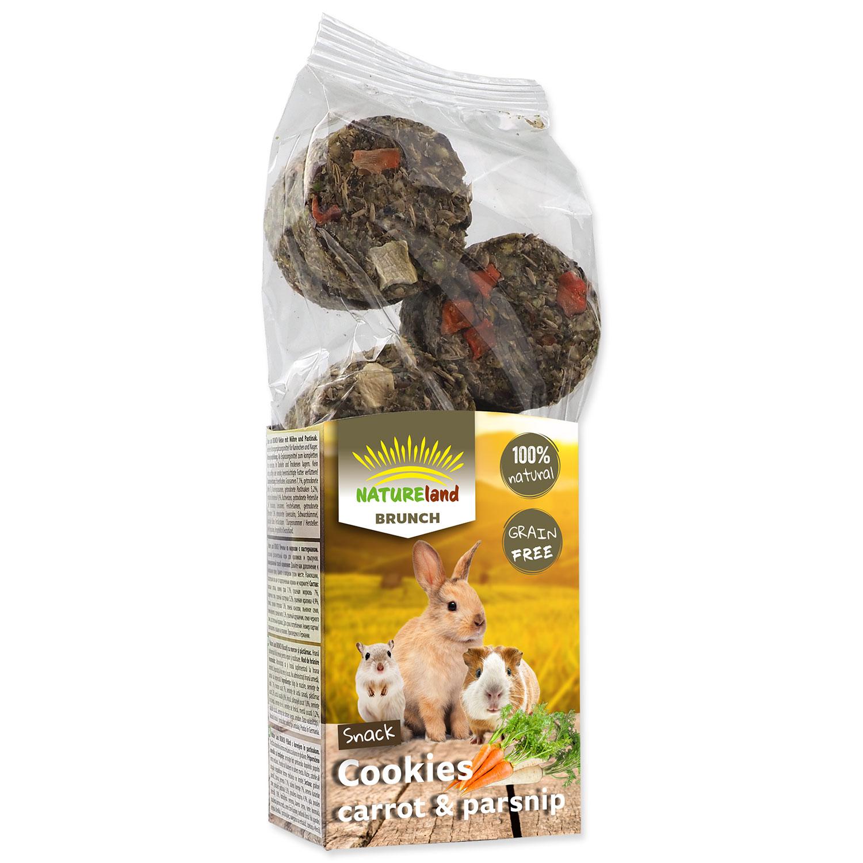 Pochoutka NATURE LAND Brunch sušenky s mrkví a pastinákem