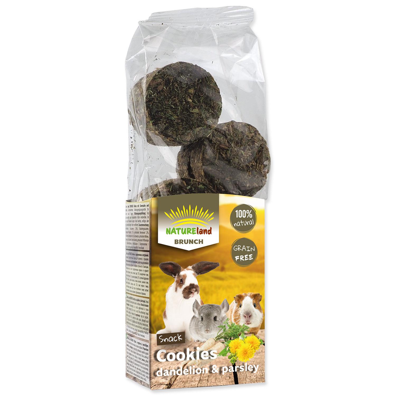 Pochoutka NATURE LAND Brunch sušenky s pampeliškou a petrželí