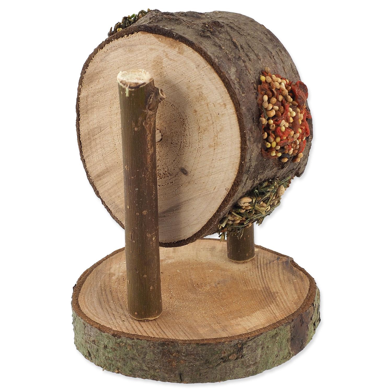 Pochoutka NATURE LAND Nibble kolo dřevěné plněné