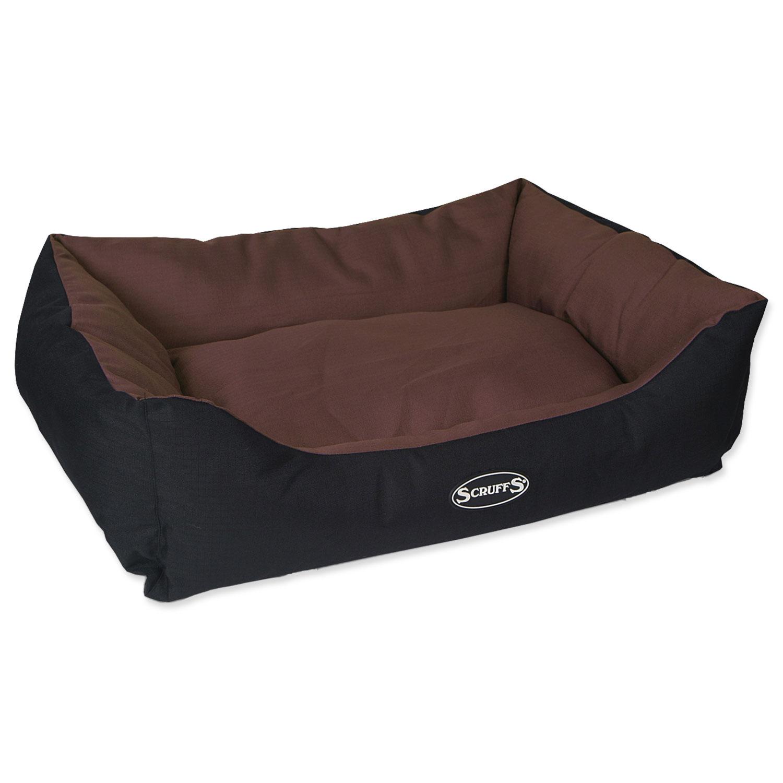 Pelíšek SCRUFFS Expedition Box Bed čokoládový L