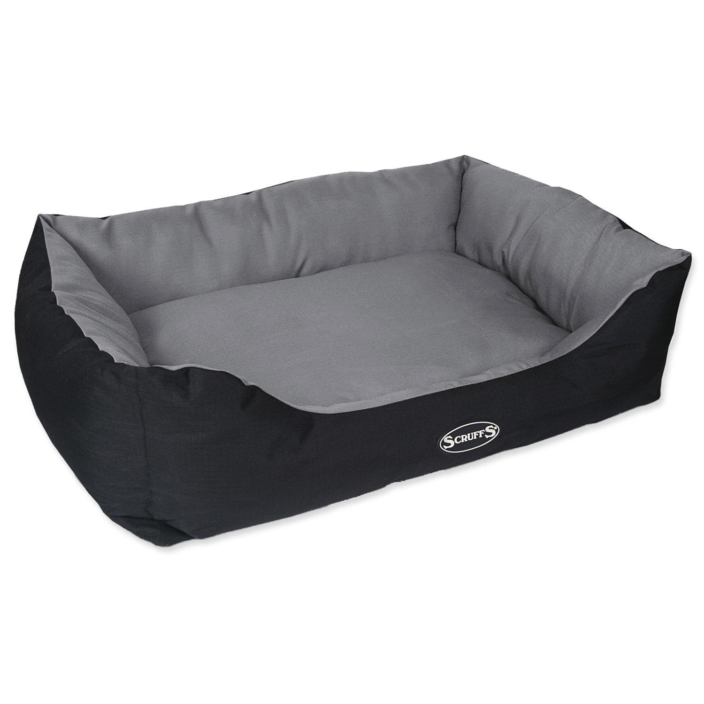 Pelíšek SCRUFFS Expedition Box Bed šedivý XL