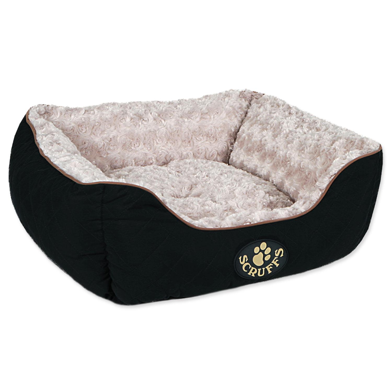 Pelíšek SCRUFFS Wilton Box Bed černý S