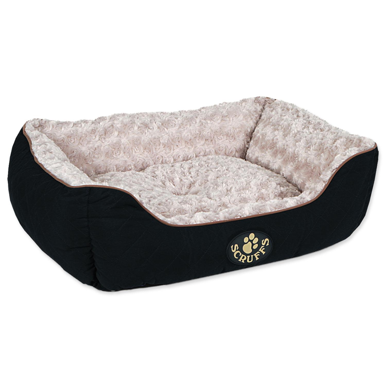 Pelíšek SCRUFFS Wilton Box Bed černý M