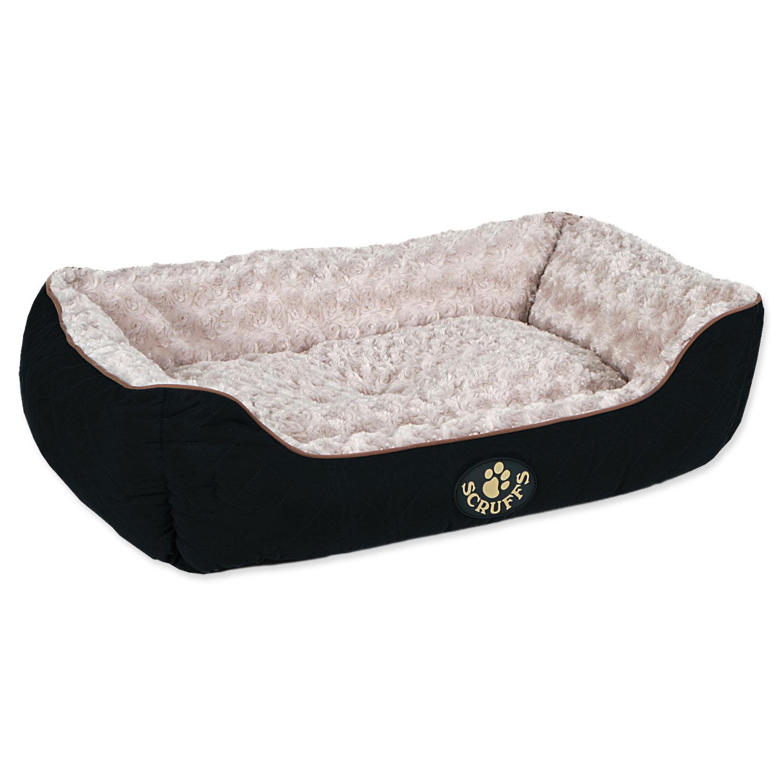 Pelíšek SCRUFFS Wilton Box Bed černý L
