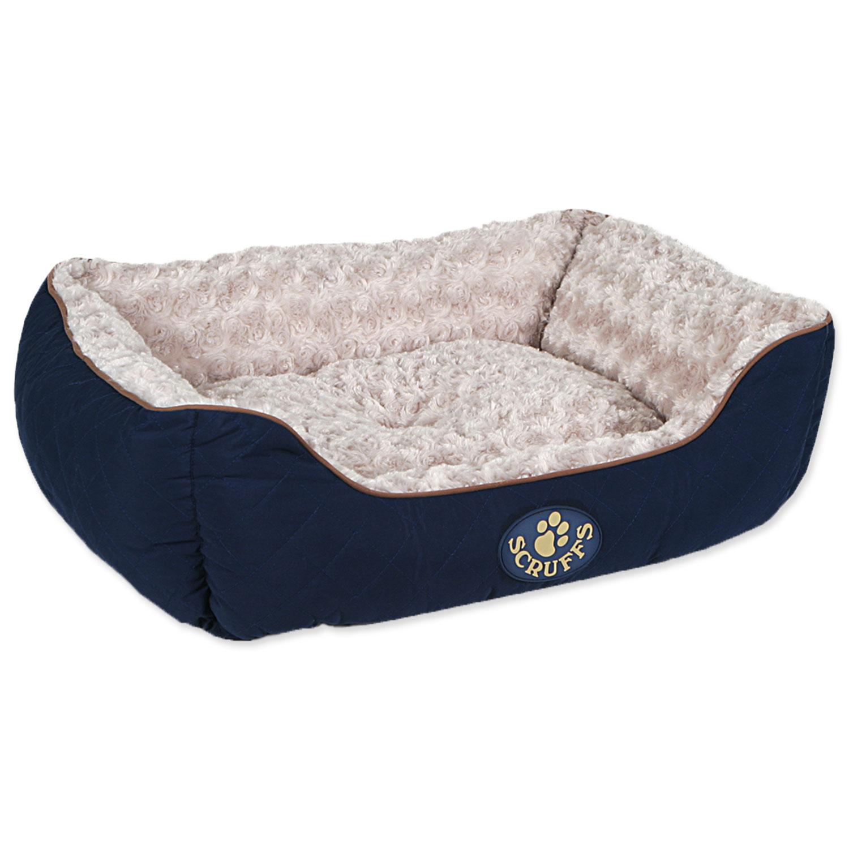 Pelíšek SCRUFFS Wilton Box Bed modrý M