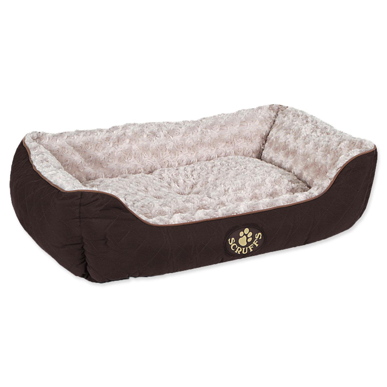 Pelíšek SCRUFFS Wilton Box Bed hnědý L