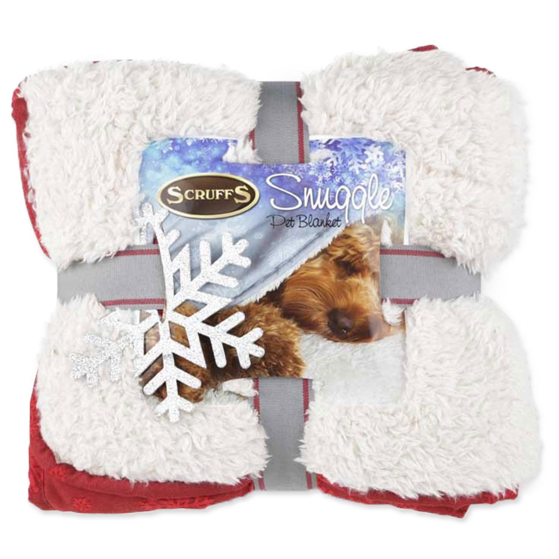 Deka SCRUFFS Snuggle Blanket Winter mix barev