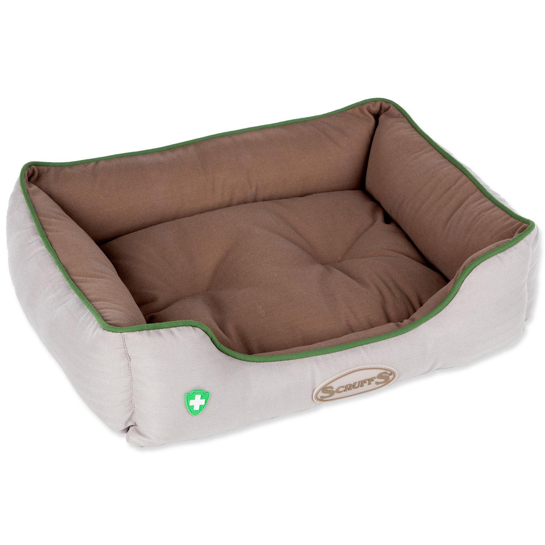 Pelech SCRUFFS Insect Shield Box Bed hnědý 50 x 40 cm