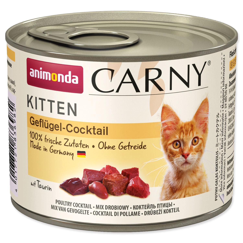 Konzerva ANIMONDA Carny Kitten drůbeží směs