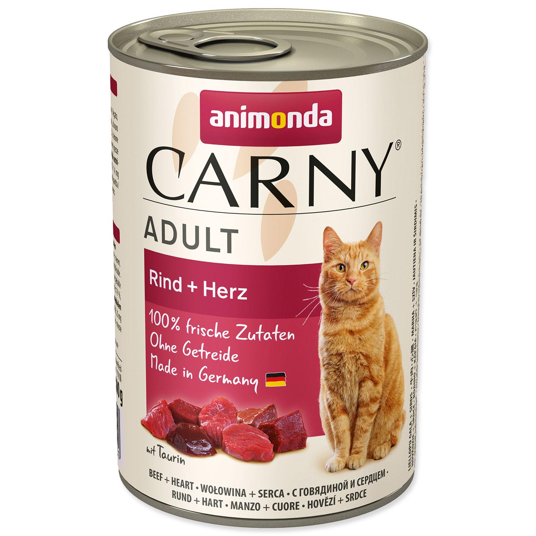 Konzerva ANIMONDA Carny Adult hovězí + srdíčka