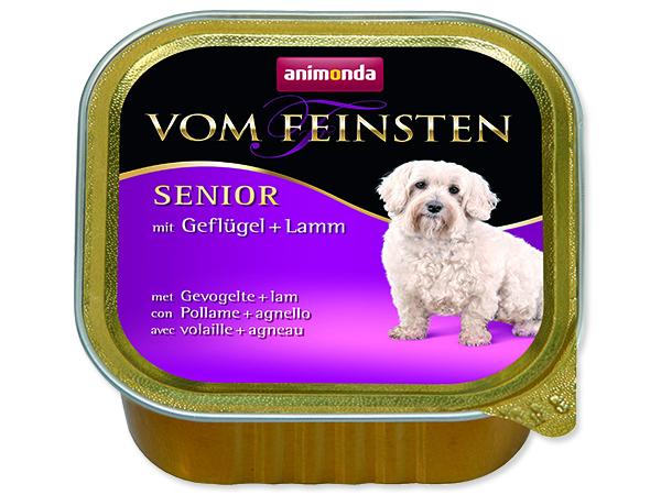 Paštika ANIMONDA Vom Feinsten Senior drůbež + jehně