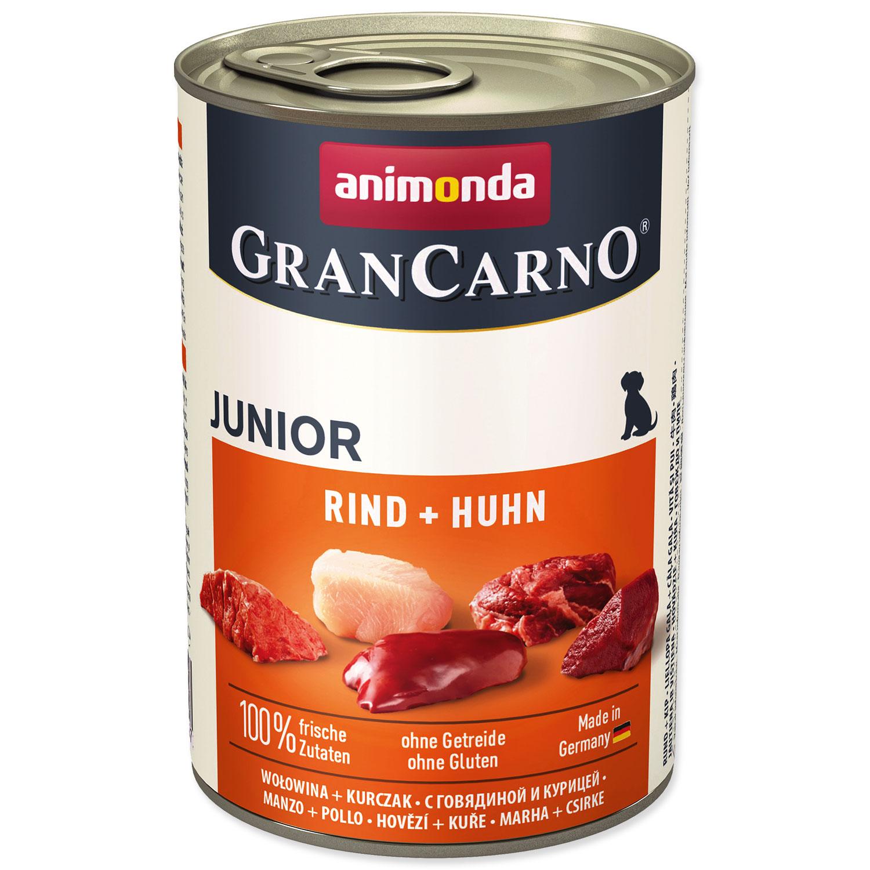 Konzerva ANIMONDA Gran Carno Junior hovězí + kuře