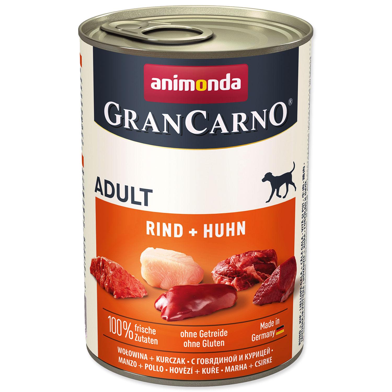 Konzerva ANIMONDA Gran Carno hovězí + kuře