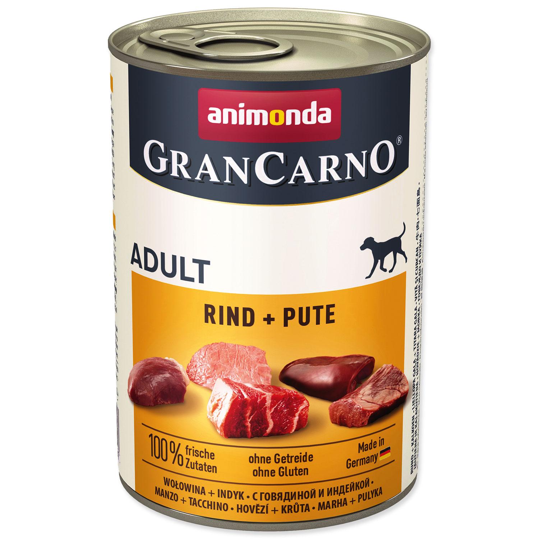 Konzerva ANIMONDA Gran Carno hovězí + krůta